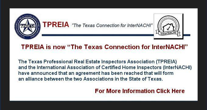 "TPREIA ""The Texas Connection for InterNACHI"